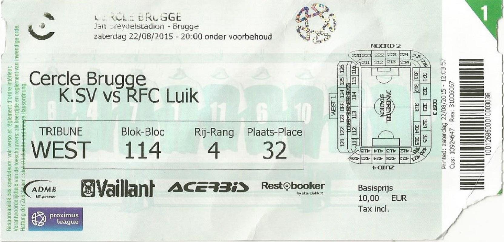 Houd je er net als ik van om wedstrijden van oude ploegen bij te wonen en te verbroederen met hun supporters? Brugge is gezegend met uniek sportief erfgoed: twee eeuwenoude ploegen in hetzelfde stadion. Als supporter van Cercle Brugge, heb ik een 'Voetbal in Brugge' arrangement uitgewerkt voor mijn B&B. Ik zorg voor de tickets en je bent bijzonder welkom om met mij en mijn vrienden mee te gaan naar de wedstrijd. Check het 'Voetbal in Brugge' arrangement op bb-emma.be!