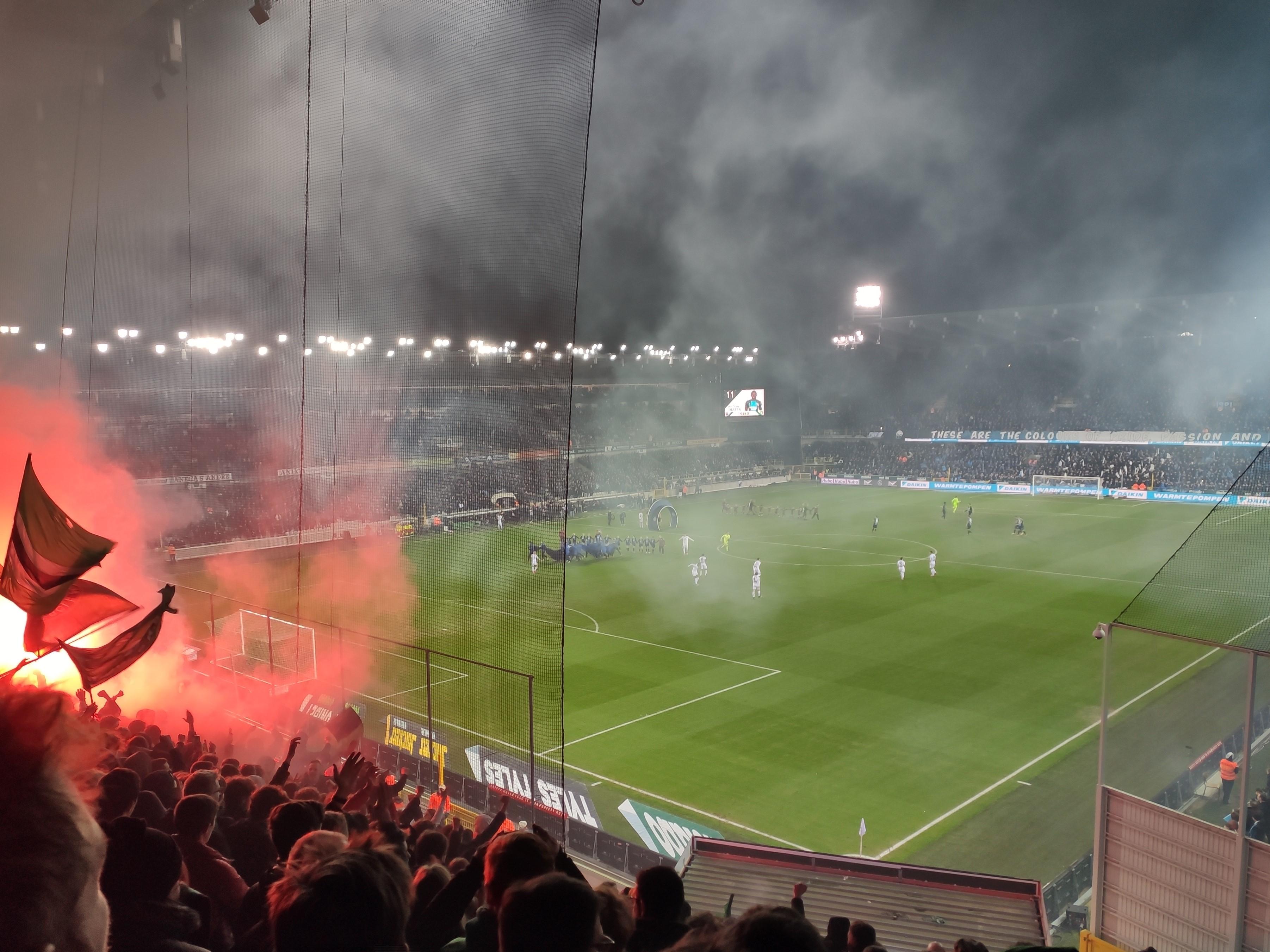 FC Bruges - Cercle Bruges, 2 - 1, season 2019-2020